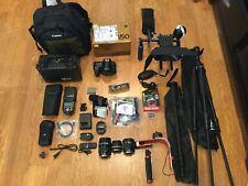Nikon D850 47.7 MP Digital SLR Camera,w/3Lens/Flash,HUGE STUDIO ,W/MATTBOX