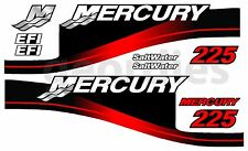 MERCURY 225 OUTBOARD MOTOR STICKERS DECAL KIT ENGINE