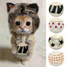 4pcs Cat Toy Ball Interactive Play Chewing Rattle Scratch Catch Exercise Toys