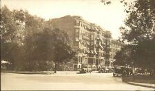 Bldg Street & Cars - Gordon College Boston (Written on Back) Wenham? RPPC