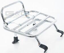 Plegar Portaequipajes Cromado para Delant. An Vespa Gt GTS Gtv 125 250 300 Super