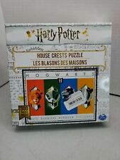Harry Potter House Crests 300-Piece Jigsaw Puzzle  New Sealed