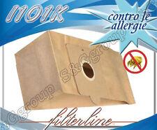 I101K 8 sacchetti filtro carta x Imetec Sprint 8034 1700w