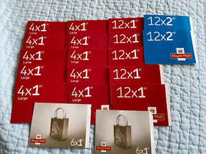 Empty Royal Mail Stamp Booklets