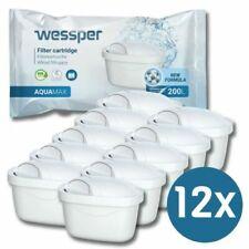 12 Filterkartuschen für Brita Maxtra u. Plus Wasserfilter Kartuschen von Wessper