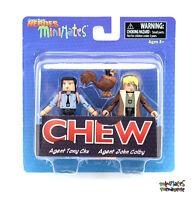 Comic Book Heroes Minimates Series 1 Chew Agent Tony Chu & Agent John Colby