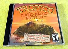 Tropico: Mucho Macho Edition ~ PC CD Rom Sim Video Game ~ Windows Computer