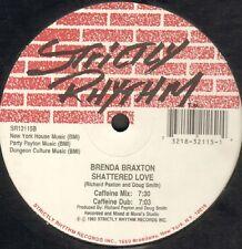 Brenda Braxton – Shattered Love 1992 -  Strictly Rhythm  - Usa - SR12115
