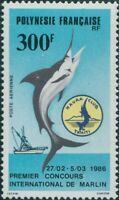 French Polynesia 1986 SG476 300f Marlin MNH