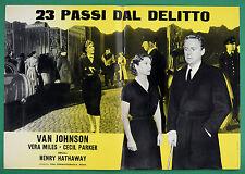 T73 FOTOBUSTA 23 PASSI DAL DELITTO VAN JOHNSON VERA MILES CECIL PARKER 4