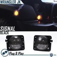 JEEP Wrangler YJ Frecce Luce Intermittente Anteriore Sinistro O Destro Bianco 87-95
