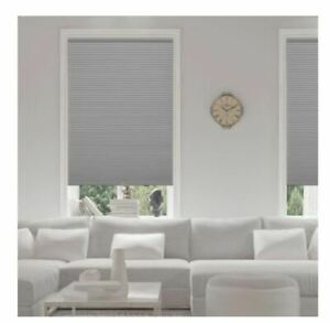 Assorted Size Pewter Blackout Cordless Cellular Shade (PLEASE READ)