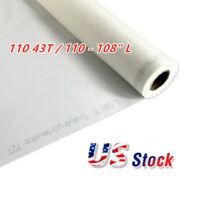 "US Stock- 3 Yards - Silk Screen Printing Mesh Fabric 110 43T / 110 - 108"" L"