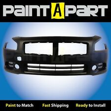 Fits: 2009 2010 2011 Nissan Maxima Front Bumper (NI1000258) Painted