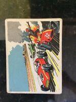 m17c4 trade card 1960s speed kings no 24