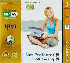 Net Protector Total Security 2016 Gold Edition - 1 PC (USER) 1 Year (NPAV)