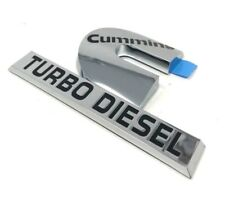 00-12 Dodge Ram Cummins Turbo Diesel Nameplate Emblem Badge Decal Mopar New