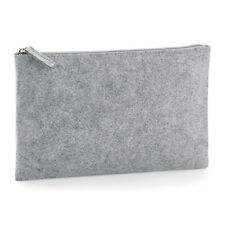 BagBase Premium Felt Make Up Cosmetic Holiday Travel Accessory Pouch Bag