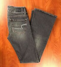 American Eagle Women's Jeans Size 00 (24 X 30) Stretch Boot Cut Artist  Brown