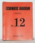 KENWOOD Service Manuals Buch von 1990 Almanach Schematic Diagram No.12