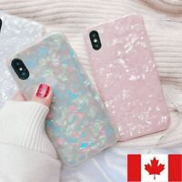 For iPhone 7 8 Plus X XR XS MAX Cover Case Shockproof Luxury Marble Design