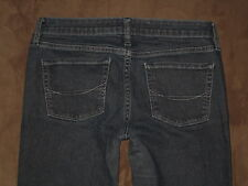 Bullhead Size 5 Short Super Skinny Dark Blue Stretch Denim Womens Jeans