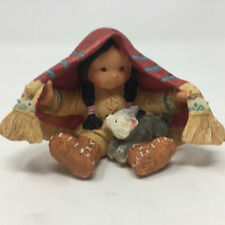 Enesco Friends Of The Feather Brothers Of The Earth Figurine 94 Native