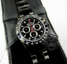ROLEX Daytona KingsLife Black Limited Edition RED Series 116520 PVD DLC