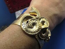 SNAKE CUFF SERPENT BRACELET MYELEGANTTHINGS EGYPTIAN REVIVAL SNAKES CUFF USA