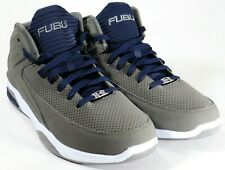 Men Grey Athletic Sports Shoes Non-Marking Outsole Ankle Support US 11, 9, & 8.5