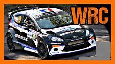 DECALS 1/43 FORD FIESTA WRC - #22 - MAURIN - RALLYE DE FRANCE 2014 - D43358