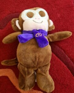 "Cadbury Monkey 9"" Tall soft toy comforter VGC tg gq"