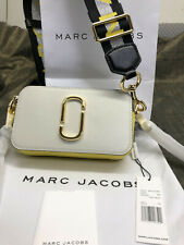 Hot sales MARC JACOBS Snapshot Small Camera Bag white grey multi