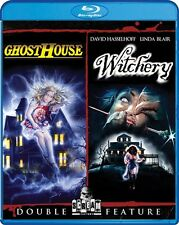 GHOSTHOUSE + WITCHERY New Sealed Blu-ray Double Feature David Hasselhoff