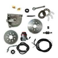 36/40T Sprocket,Carburetor,Gear,Mount Kit,Shaft,Filter 66 80cc Motorized Bike