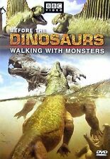 NEW Before the Dinosaurs: Walking With Monsters (DVD)