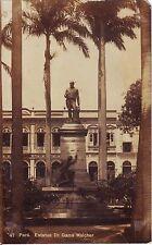 Brazil Brasil Para - Estatua Dr. Gama Malcher old unused sepia postcard