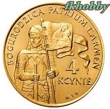 Poland Kcyna 2008 coins 4 kcynie  Bogurodzica Religion