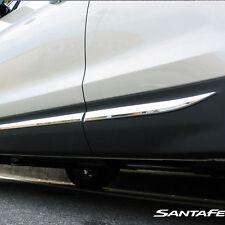 OEM Chrome Side Door Molding Trim for Hyundai 2013-2015 Santa Fe Sport