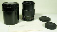 MC Volna -9 M-42 macro  2,8/52 lens Zenit Pentax Practica+2caps+case+manual