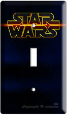 Star Wars Logo Deep Into Space Single Light Switch Wall Plate Cover Room Decor