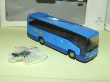 CAR MERCEDES REISEBUS MB O 404 RH Bleu  WIKING 1/87 ho