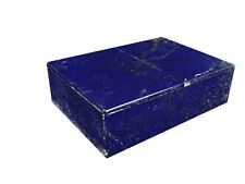 """BUTW Hand Crafted Afghan Lapis Lazuli 6"""" Jewelry Box Gorgeous Color 0804K ab"""