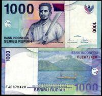 INDONESIA 1000 1,000 RUPIAH 2000/2007 P 141 UNC