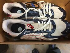 Asics Hyper MD 4 Size 11 Track Spikes Shoes Cleats White/ Red Sprinting Running