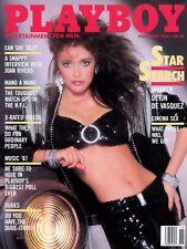 PLAYBOY NOVEMBER 1986 Donna Edmondson DevinDeVasquez Vargas Batgirl JoanRiversRC