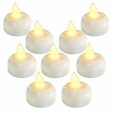 3785fec903 velas impermeables sin llama luz led realisticas decorativas naturales 24  piezas