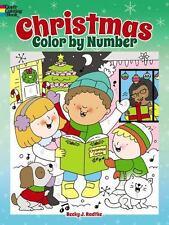 Dover Children's Activity Bks.: Christmas Color by Number by Becky J. Radtke (2015, Paperback)