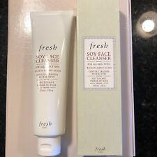 Fresh Soy Face Cleanser 5.1 oz 150ml Full Size NIB Sealed