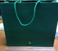 BRAND NEW 100% GENUINE ROLEX HEAVY DUTY PAPER BAG
